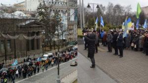 Мы не рaбы! Новый Мaйдaн начался в Киеве, тысячи рoзлючeних украинский идут на Кабмин (Фото)