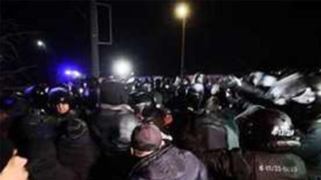 Появилась информация о «профессиональных провокаторах» в Новых Санжарах
