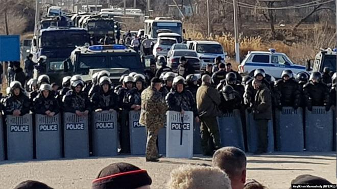 В Казахстане произошли столкновения, есть погибшие и раненые