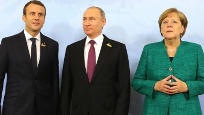 Меркель и Макрон решили пойти на условия Кремля по Украине: «вот сейчас все и будет решаться»