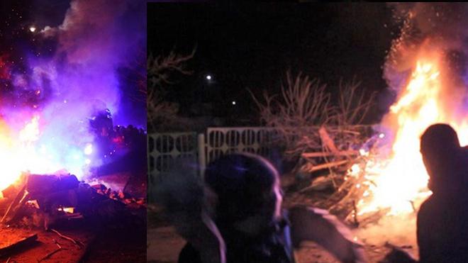 Протестующие в Новых Санжарах оказались провокаторами: большинство не местные