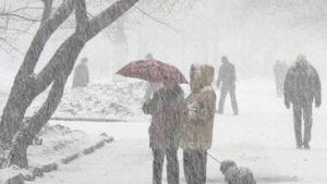 Новости Украины – Сильные снегопады и морозы до -26: прогноз погоды на неделю