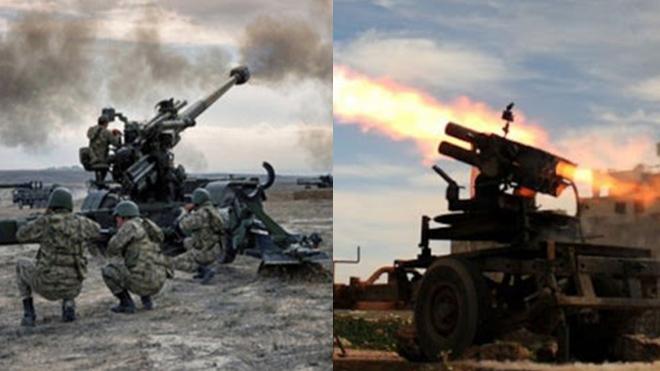 В Сирии началась российско-турецкая война.