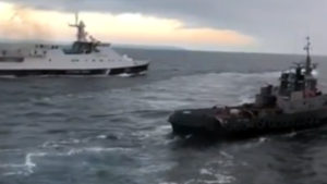 У Зеленского отреагировали на захват украинского корабля в Азавском море