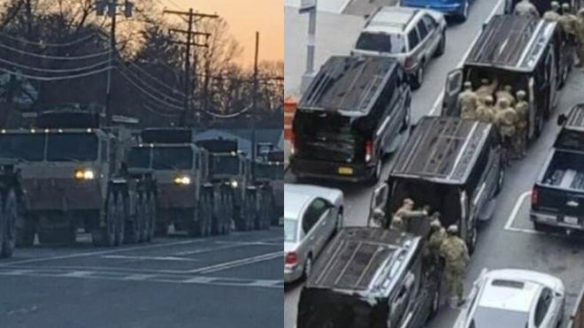 В Нью-Йорк вошли подразделения армии США и национальной гвардии. Фото и видео