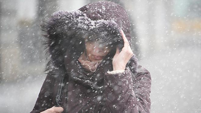 На Украину надвигается арктический холод с мокрым снегом и дождем