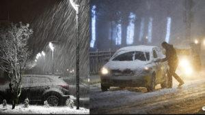 На Москву и область обрушился сильный снегопад