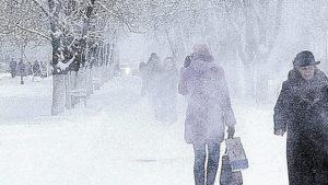 В Киеве и шести областях Украины объявили штормовое предупреждение