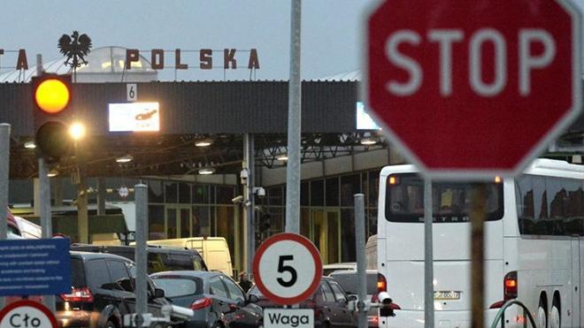 Важно! Польша закрыла границу для украинцев. Список нерабочих КПП