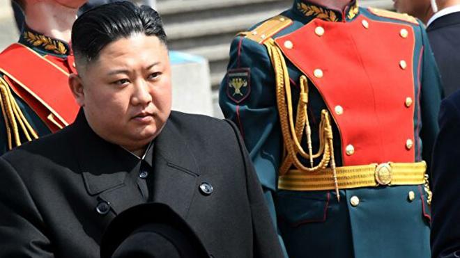 Опубликовано видео с появившимся на публике Ким Чен Ыном
