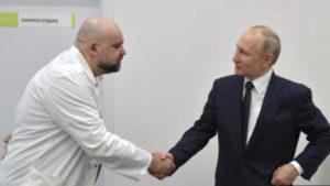 После встречи с врачом, у которого коронавирус Путин самоизолировался