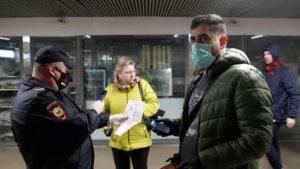 В московском транспорте будут штрафовать за несоблюдение дистанции