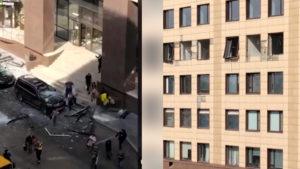 Мощный взрыв прогремел в Москве