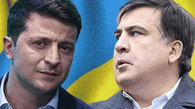 Зеленский рассказал, чего хочет от Саакашвили