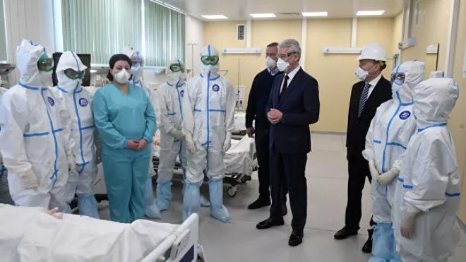Собянин рассказал о реальном количестве заболевших COVID-19 в Москве