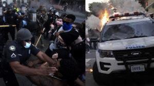 Массовые беспорядки в США: в Лас-Вегасе в упор расстреляли двух полицейских