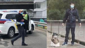 Заминировали мост Метро: в Киеве мужчина с пакетом в руках грозит его взорвать. Все детали