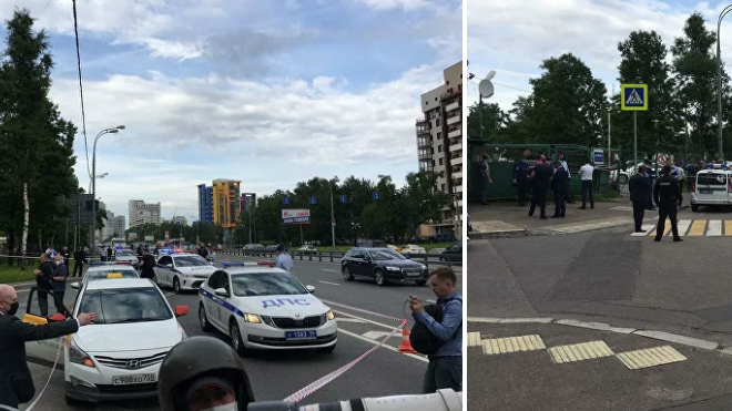 В Москве полицейские пострадали при стрельбе на Ленинском проспекте