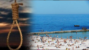 В Одессе на пляже пенсионерка повесилась на шарфе