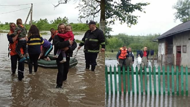На западе Украины объявлена срочная эвакуация населения: дороги и трассы размыты