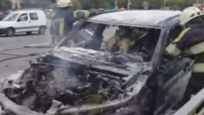 Мощный взрыв в Киеве: в центре столицы подорвался автомобиль