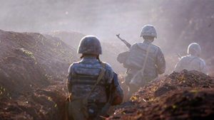На границе Армении и Азербайджана возобновились столкновени