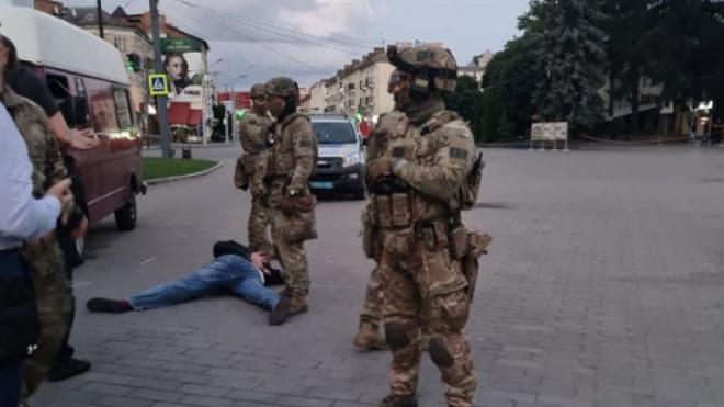 Луцкий террорист задержан: жертв и пострадавших нет. ВИДЕО