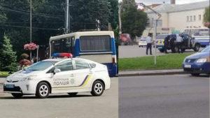 В Луцке со стрельбой захватили автобус с людьми: все подробности, фото и видео