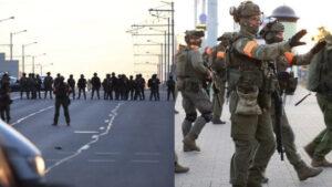 Белорусские военные обнаружили тайники протестующих с прутами и кольями
