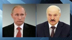 В Кремле рассказали в подробности о телефонном разговоре Лукашенко и Путина о майдане в Беларуси