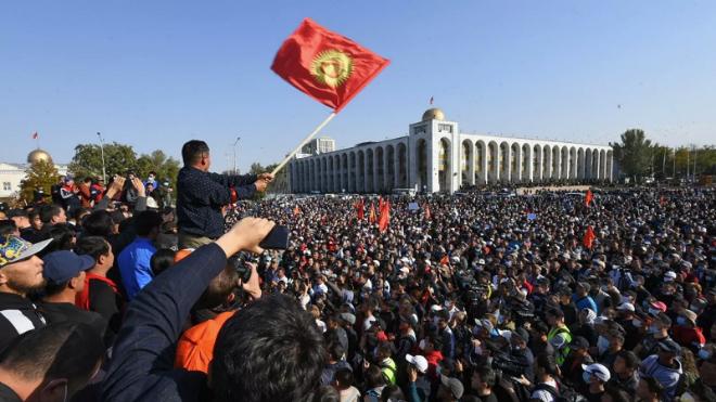 Правительство Киргизии выступило с заявлением