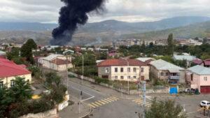 В Степанакерте прогремела серия взрывов