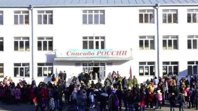 Ստեփանակերտում պատերազմից հետո բացվեց առաջին դպրոցը. շուտով բացվելու է նաեւ համալսարանը (ֆոտո)