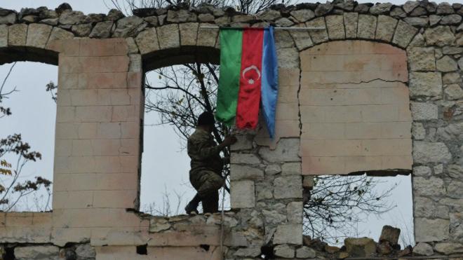 Азербайджанская армия вошла в Агдамский район