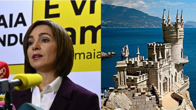 Санду озвучила позицию по Крыму