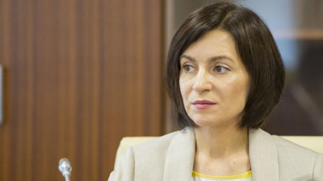 Санду потребовала вывести войска РФ из Приднестровья