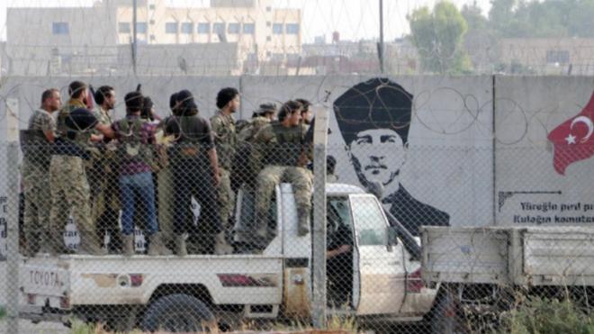Թուրքական ուժերը Սիրիայում գրասենյակներ են բացել ԼՂ-ում մշտական բնակություն հաստատել ցանկացողների գրանցման համար․ Afrinpost