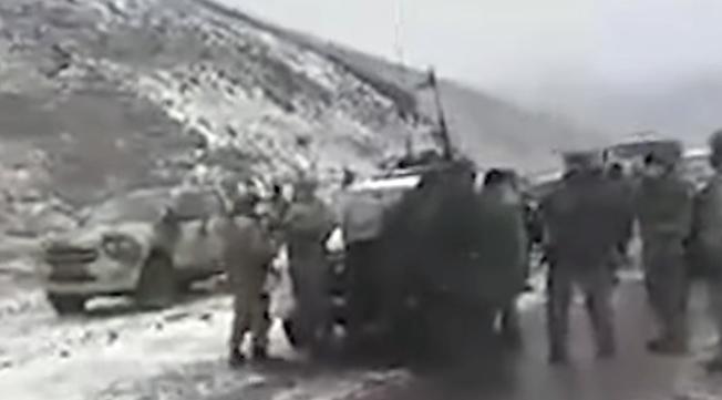 Մոտ 250 ադրբեջանցի զինծառայողներ մտել են Սոթքի հանքավայրի տարածք, պահանջել, որ հայերը հեռանան