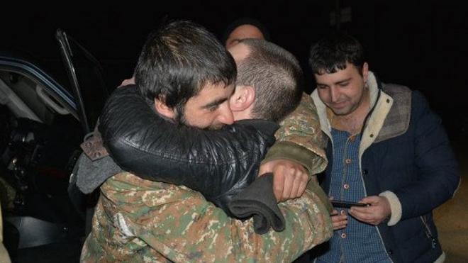 70 օր անհայտության մեջ գտնվող ժամկետային 6 զինծառայողները առայժմ կմնան բժիշկների հսկողության տակ. Արցախի ԱԻՊԾ (ֆոտո)