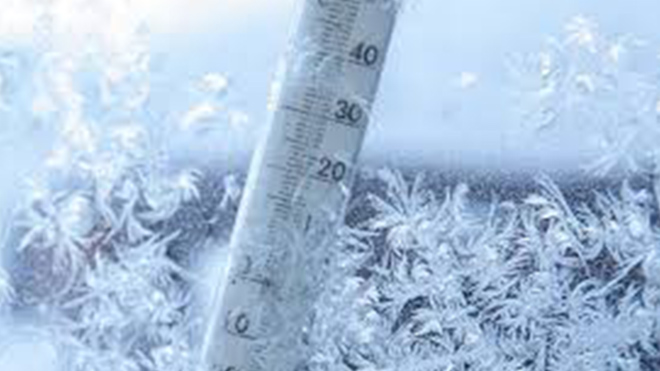 Сильные морозы до -14 и снег несутся на Украине, дать погодного удара