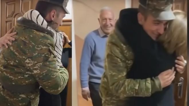ՏԵՍԱՆՅՈՒԹ․ 67 օր լուր չունենալուց հետո զինվորը վերադարձավ տուն