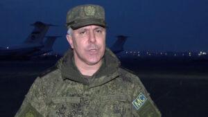 Ղարաբաղում ռուս խաղաղապահների հրամանատարը պատմել է Հադրութի շրջանում իրավիճակի մասին