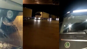ՏԵՍԱՆՅՈՒԹ. Ադրբեջանցիները քարերով հարվածել են հայկական բեռնատարներին. ինչ է կատարվում Ռուսթավիում