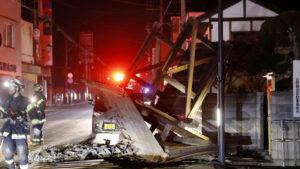 Ճապոնիայում երկրաշարժից տուժածների թիվը շարունակում է աճել