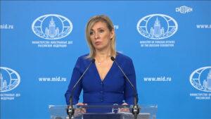 ՌԴ ԱԳՆ խոսնակը՝ Հայաստանում հունիսի 20-ին նշանակված արտահերթ ընտրությունների մասին