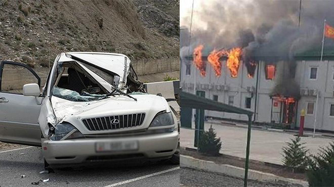 Минздрав Киргизии сообщил о 31 погибшем при конфликте на границе
