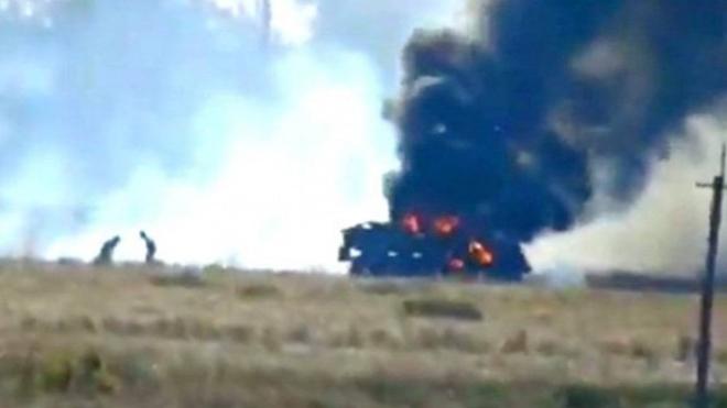 Ռուս զինծառայողներ տեղափոխող բեռնատարը Ղարաբաղում պայթել է ականի վրա. կան ծանր վիրավորներ