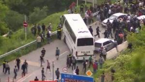 Թբիլիսիում զանգվածային ծեծկռտուք է տեղի ունեցել ադրբեջանցիների և քրդերի միջեւ