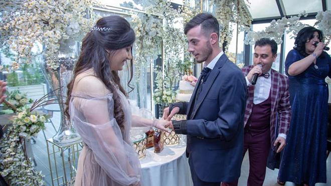 Վիրավոր զինվորն ամուսնացել է «Զինվորի տանը» իրեն խնամած բուժքրոջ հետ (ֆոտո)