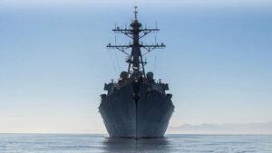 В Черное море вошел американский ракетный эсминец Ross